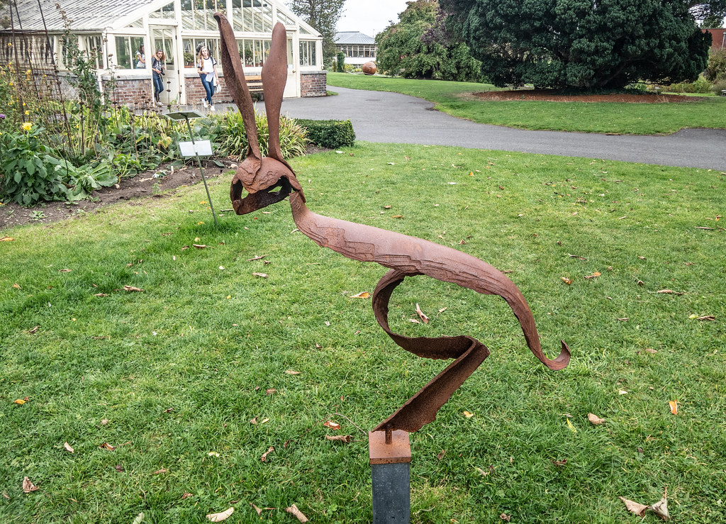 HARE BY GUNVOR ANHOJ [CATALOGUE REF 1 - SCULPTURE IN CONTEXT 2018]-144700