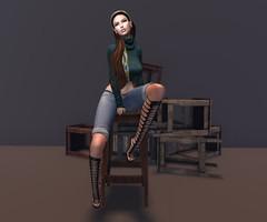 # 75 - SCALA - Ying/Yang Event (gloria Gabe) Tags: prism madras analogdog legendaire ryca model shorts stool gloriagabe scala scalayinyangevent