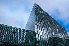 Beautiful Model Harpa (marionrosengarten) Tags: harpa reykjavic kongresszentrum architektur opera building architecture glass facade gebäude island iceland harbour