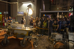 ExoMars rover in Mars Yard at ESA Open Day (europeanspaceagency) Tags: esa europeanspaceagency space universe cosmos spacescience science spacetechnology tech technology estec openday2018 openday esaopenday esaopenday2018 exomars rover exomarsrover mars technologyimageoftheweek marsyard