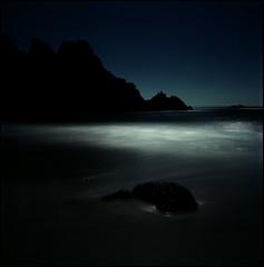 moonlight (steve-jack) Tags: hasselblad 501cm 80mm cb kodak ektar 100 pushed iso 3200 push film 120 6x6 medium format beach night moonlight long exposure cornwall tetenal c41 kit epson v500