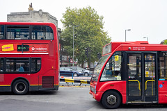 Quality LIne OS20253 & London General E15 (cybertect) Tags: carlzeissvariosonnart3570mmf34mm e15 goaheadlondon k5 londongeneral londonbus morden os20253 optaresolo sonya7ii yj11ejc bus doubledecker singledecker terminus