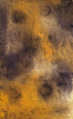 Sahara (Kate O'Kina) Tags: art artist abstract abstraction paint painting paintings modern contemporary yellow violet