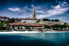 I Love Bern (LeWelsch Photo) Tags: ilovebern bernermünster oldtown münster glitter church urbex schwellenmätteli lte longtimeexposure aare altstadt bern berne switzerland rx100m3 rx100iii lewelsch lewelschphoto swissphotographers