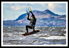 Longniddry Kite Boarders (srowell8) Tags: kitesurfing kiteboarding kite windsurfing scotland eastlothian