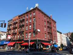 201809081 New York City Chelsea (taigatrommelchen) Tags: 20180937 usa ny newyork newyorkcity nyc manhattan chelsea sky urban city building street