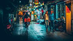 Night At Thamel (1/4) (Iftakhar Hasan) Tags: asia nepal kathmandu thamel night street travel city neon olympus panasonic olympusomdem10markiii panasoniclumixg25mmf17asph ठमेल