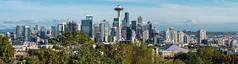 Seattle Skyline (Travis Estell) Tags: seattle seattleskyline spaceneedle washington skyline unitedstates us