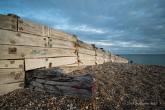 Shoreham Crocodile (Malcolm Bull) Tags: 20180930wide0133edited1web include shoreham beach crocodile groyne
