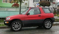 Toyota Rav4 3-door (Custom_Cab) Tags: toyota rav4 rav 4 3door 3 door suv xa10 hatchback 1994 1995 1996 1997 1998 1999 red car canada canadian 2door 2 hardtop