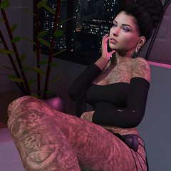 #1022 - And now I'm covered in the colors (ɴaɴa ( Lellee Resident )) Tags: vanityhair hairfair catwa maitreya letre leluck zombiesuicide blush girlpower joplino suicidedollz epoch