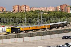 Tren Postal (Mariano Alvaro) Tags: 269 604 aafm alsa azaft renfe correos tren postal trenes madrid
