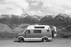 Grand Teton NP, WY (cookieha) Tags: nationalpark campervan film