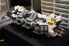 Ugly Duckling: progress report (Blake Foster) Tags: lego space afol spaceship micro microscale microspace ugly duckling
