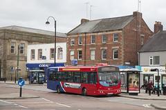 CDU_150 (Stuart's Transport) Tags: chesterlestreet bus nebuses gonortheast countydurham uk scania l94ub wrighteclipsesolar singledeck x25 5201 nk54nuu