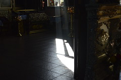 _DSC4619 (Aris_Totel) Tags: orthodoxy church architecture faith people saint light sunray window monastery chapel kirk father