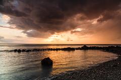 (RicardoPestana2012) Tags: sunset beach cobblestone madeira madeiraisland paúldomar