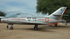 Dassault MD-454 Mystere IVA in Tucson (J.Comstedt) Tags: aircraft flight aviation air aeroplane museum airplane us usa planes pima space tucson az dassault 454 mystere french force 57