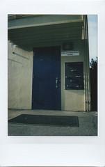 blue door (jayplorin) Tags: fujifilm instax mini 8 instant film door