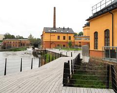 Eskistuna river walk (Tim Ravenscroft) Tags: river architecture eskilstuna mill sweden hasselblad hasselbladx1d