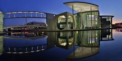 Spreebogen 2 (Pinky0173) Tags: berlin spiegelung blauestunde morgensmarieelisabethlüdershaus spreebogen germany river spree canon pinky0173