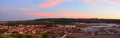 PERALTA ( NAVARRA ) (alfredo2057) Tags: alfredo azul atalaya senderismo vegetacion nikon luz navarra nubes pueblo peralta panoramica otoño color monte cielo casa calles