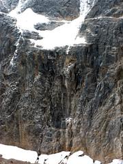 Jasper National Park, Mount Edith Cavell (januszsl) Tags: glacier gletscher lodowiec ice eis glace lod rock rocks gestein roche skała skaly goryskaliste rockymountains canadianrockies montagnesrocheuses mountain mountains gora berg montagne montaña montagna rocheusescanadiennes america ameryka amérique canada kanada alberta jasper national park narodowy parc mountedithcavell moun tedith cavell jaspernationalpark