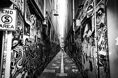 Alley of Art (Janne Räkköläinen) Tags: art alley alleyofart city cityview citylife cityart painting wallpainting streetpainting graffiti noentry melbourne australia cbd citycenter blackwhite bnw bw streetphotographing streetview streetlife fujifilm fuji fujifilmx70 x70 amateur amateurphotography amateurphotographing tags urban shots 2018 february