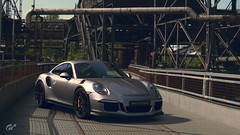 Porsche 911 GT3 RS (Matze H.) Tags: porsche 911 gt3 rs gt sport gran turismo germany construction playstation 4 pro ingame scapes wallpaper screenshot 4k uhd hdr