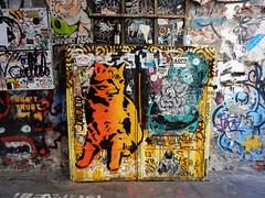 Kitty (aestheticsofcrisis) Tags: street art urban intervention streetart urbanart guerillaart graffiti postgraffiti berlin germany eu europe mitte hackeschehöfe hausschwarzenberg stencil schablone pochoir