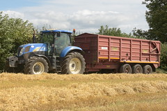 New Holland T6080 Tractor with a Herron Trailers Grain Trailer (Shane Casey CK25) Tags: new holland t6080 tractor herron trailers grain trailer nh cnh blue newholland traktor traktori tracteur trekker trator ciągnik harvest grain2018 grain18 harvest2018 harvest18 corn2018 corn crop tillage crops cereal cereals golden straw dust chaff county cork ireland irish farm farmer farming agri agriculture contractor field ground soil earth work working horse power horsepower hp pull pulling cut cutting knife blade blades machine machinery collect collecting nikon d7200