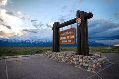 Grand Teton National Park (frederickson.jpg) Tags: jackson wyoming unitedstates us national park nationalpark grand teton grandteton grandtetonnationalpark sign