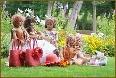 Kindergartenkinder ... (Kindergartenkinder 2018) Tags: blumen schloss arcen venlo limburg niederlande kindergartenkinder annemoni leleti milina sanrike setina tivi
