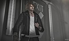 ➤ [etham] - Kane Leather Jacket (⌘ Alexul Danick ⌘) Tags: sl secondlife slfashion slmenswear signature shirt menswearsl fashionsl menswear mesh jacket tmd etham