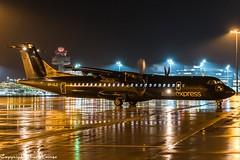 Alsie Express OY-CLZ HAJ at Night (U. Heinze) Tags: aircraft airlines airways airplane planespotting plane haj hannoverlangenhagenairporthaj eddv flugzeug nikon night
