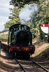 Chinnor & Princes Risborough Railway (kimbenson45) Tags: chinnorandprincesrisborough engine green historical locomotive railway red sign steam steamengine train