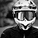 potrait of biker
