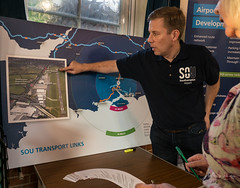 365-2018-278 - Expansion plans (adriandwalmsley) Tags: parishhall southamptonairport exhibition