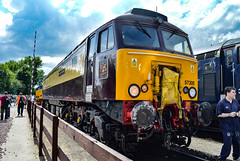 57305 - Crewe Open Day DRS 2016 - 23/07/2016. (TRphotography04) Tags: northern belle liveried direct rail services 57305 princess is seen crewe open day drs 2016