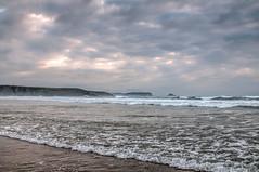 Playa con nubes (ccc.39) Tags: asturias xagó playa agua mar cantábrico sea seascape water beach