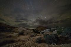 180 Degrees on a Quiet Desert Evening (Marsha Kirschbaum) Tags: muench20181006workshop utah landscape ©marshakirschbaum nightsky navajosandstone rokinon1428 pleiades goblinvalleystatepark starrysky sonya7rii