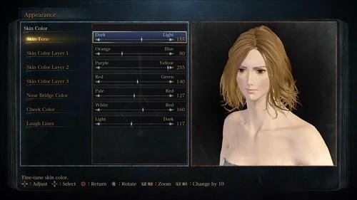 Bloodborne Female Character Creation