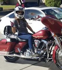 MotoKitty Jessika Ro (BikerKarl2018) Tags: motokitty jessika ro badass motorcycle helmet store biker stuff motorcycles