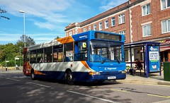 34631 GX54DVZ (PD3.) Tags: bus buses psv pcv hampshire hants england uk portsmouth cosham stagecoach 34631 gx54dzv gx54 dzv dennis dart plaxton transbus