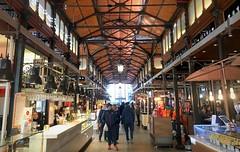 Market hall in Madrid (PeterCH51) Tags: spain madrid sanmiguelmarket mercadodesanmiguel mercado markethall market architecture iphone peterch51 urbanlife dailylife