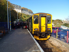 150265 St Ives (2) (Marky7890) Tags: gwr 150265 class150 sprinter 2a15 stives railway cornwall stivesbayline train