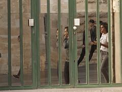 !7 Jaffa Street - Mirror Door-4 (zeevveez) Tags: זאבברקן zeevveez zeevbarkan canon mirrorphotography mirror door jaffastreet