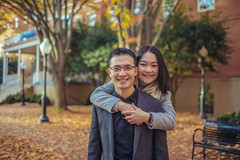 Zhihang & Lu (ExceptEuropa) Tags: canon6d canonef35mmf14lusm dc healyhall autumn bokeh canon city couple engagement fall georgetown georgetownuniversity lovers people photographer photography portrait travel trees urban washingtondc