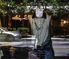 uncertainty (jburlinson) Tags: class mirror reflection street viveza