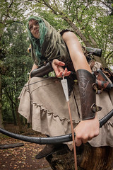 "(Lee ""Pulitzer"" Pullen) Tags: bristol nikond810 leighwoods larp liveactionroleplay empire navarr archer archery bowandarrow reenactment woods forest cosplay nikkorafs2470mmf28ged"
